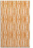 rug #507881 |  orange stripes rug