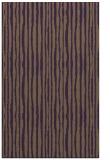 rug #507921 |  purple stripes rug