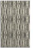 rug #507997 |  black stripes rug