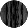 rug #508049 | round black rug