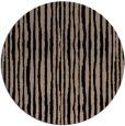rug #508053   round black stripes rug