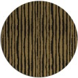 rug #508061 | round mid-brown stripes rug