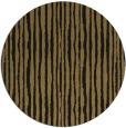 rug #508061 | round mid-brown stripes rug