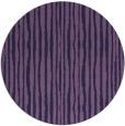 rug #508137   round blue-violet rug