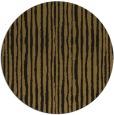 rug #508157   round black stripes rug