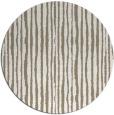 rug #508181 | round mid-brown stripes rug