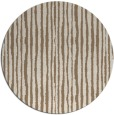 rug #508193 | round mid-brown popular rug