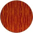 rug #508229 | round orange rug