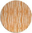 rug #508233   round orange popular rug