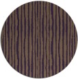 rug #508273 | round purple stripes rug