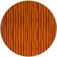rug #508297 | round red-orange rug