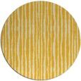 rug #508329 | round yellow popular rug