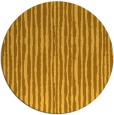 rug #508345 | round light-orange stripes rug