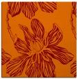 rug #508933 | square orange natural rug