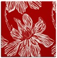 rug #508985 | square red graphic rug
