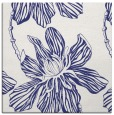 rug #509025 | square blue graphic rug