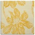 rug #509033 | square yellow rug