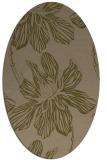 rug #509218 | oval natural rug