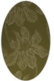 rug #509429 | oval light-green rug