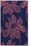 rug #509541 |  blue-violet natural rug