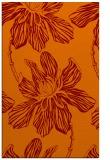 rug #509637 |  orange graphic rug