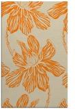 rug #509765 |  orange graphic rug