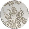 rug #509801 | round beige natural rug