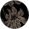 rug #509813 | round beige natural rug