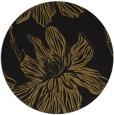 rug #509917 | round mid-brown popular rug