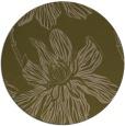 rug #509921 | round brown popular rug