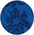 rug #509969 | round blue popular rug