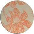 rug #509998 | round graphic rug