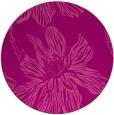 rug #510009 | round pink rug