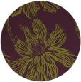 rug #510029 | round green rug