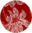 rug #510041 | round red natural rug