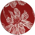 rug #510049 | round red natural rug