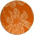 rug #510061 | round red-orange graphic rug