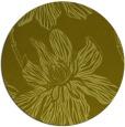 rug #510121 | round light-green natural rug