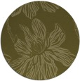 rug #510133 | round light-green graphic rug