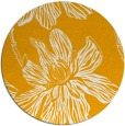 rug #510137 | round light-orange graphic rug