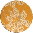 rug #510149 | round light-orange popular rug