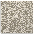 rug #510505 | square white animal rug