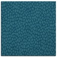 rug #510553   square blue-green animal rug
