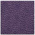 rug #510601 | square blue-violet rug