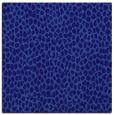 rug #510609 | square blue-violet animal rug