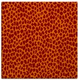 rug #510693 | square red-orange animal rug