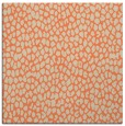 rug #510701 | square orange animal rug