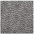 rug #510705 | square red-orange animal rug
