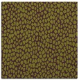 rug #510733 | square green animal rug
