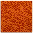 rug #510749   square orange rug